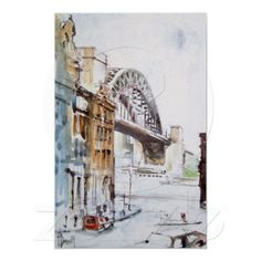 Tyne Bridge From Dean Street by Terry Donnelly
