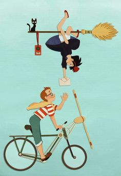 Kiki's Delivery Service. Beautiful movie!