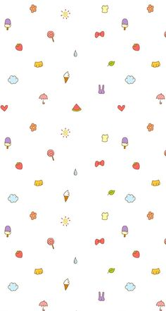 Wallpaper Doodle, Soft Wallpaper, Cute Patterns Wallpaper, Cute Wallpaper For Phone, Kawaii Wallpaper, Print Wallpaper, Cellphone Wallpaper, Aesthetic Iphone Wallpaper, Girl Wallpaper