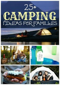 25+ Camping Ideas for Families via Remodelaholic