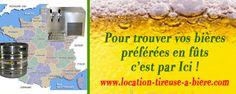 Pour louer des fûts de bière pour vous soirées, trouvez une adresse près de chez vous sur www.location-tireuse-a-biere.com