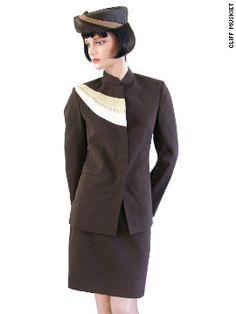 Stewardess Uniform.*