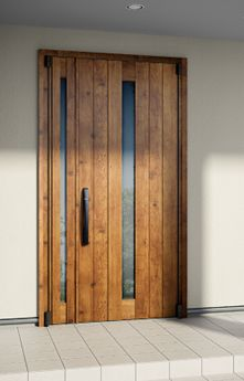 施工例 | 高断熱玄関ドア イノベスト | YKK AP株式会社 Main Door, Door Design, Exterior Design, Entrance Doors, Windows And Doors, Front Porch, Tall Cabinet Storage, Gate, My House