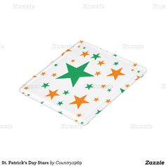 Patrick's Day Stars Glass Coaster created by Personalize it with photos & text or purchase as is! Glass Coasters, Patron Saints, Star Patterns, St Patricks Day, Print Design, Stars, Prints, Artwork, Decor