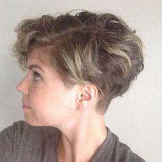 Undercut for summer / thick hair / curly hair / short hair