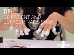 The Best Way to Remove Gel Nails at Home @Emily Schoenfeld Biniewski & @Christina & Kate