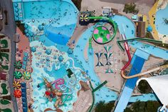 Theme Park Birds Eye ViewAlex MacLean's Mesmerizing Aerial Photography