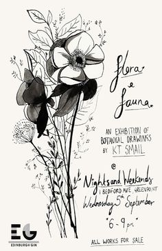 Poster created by Katie Smail. My branding inspiration.