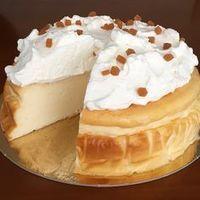 Receta de Tarta de queso super fácil, sin baño María, sin base de galletas... nada más que batir y hornear. |. Cheesecake