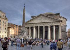 Pantheon Front - Piazza della Rotonda – Wikipédia, a enciclopédia livre