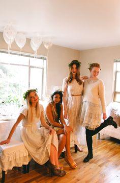 Boho Be My Bridesmaid party  | onefabday.com
