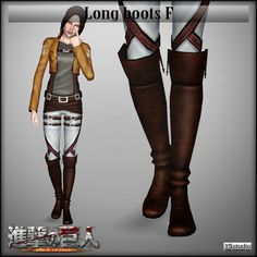Long boots for females by YSstudio - Sims 3 Downloads CC Caboodle OH MY GOD Is THIS AMAZING OR WHAT ?!?!