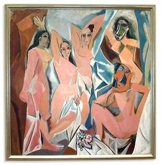 파블로 피카소 - 아비뇽의 처녀들
