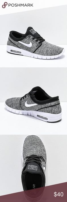 e33287c150 Nike SB Janoski Air Max Heather Grey Skate Shoes *New no box* Janoski Air