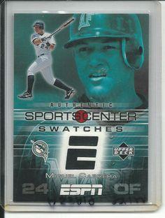 Miguel Cabrera Florida Marlins (Baseball Card) 2005 Upper Deck ESPN Sports Center Swatches #MC