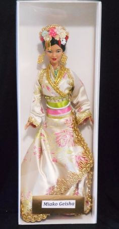 Maiko Geisha ~ Asian barbie doll ooak custom repaint DAKOTAS.SONG