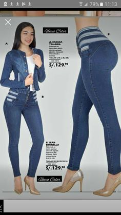 Zulemamatuz.74@gmail.com Classy Outfits, Casual Outfits, Denim Fashion, High Waist Jeans, Clothing, Projects, Pants, Women, Style