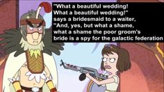 "I chime in with a, ""Haven't you people ever heard of, she of consent, Seriously, birdmans like 50, and it's ended so shitty and then everyone else died. (Rather red weddingy if you ask me)"