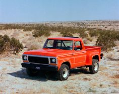1978 Ford Stepside pickup with special flair package.