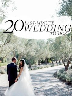 20 Last-Minute Wedding-Planning Details You Can't Forget About wedding details forget Wedding Planning Wedding To Do List, Wedding Advice, Plan Your Wedding, Budget Wedding, Destination Wedding, Wedding Stuff, Diy Wedding, Wedding Planner, Wedding Blog