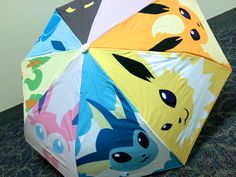 Hey, I found this really awesome Etsy listing at https://www.etsy.com/listing/184179132/pokemon-eeveelution-umbrella-preorder