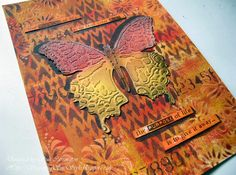 Butterfly journal page
