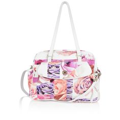 Roberto Cavalli Rose Print Baby Changing Bag With Mat Baby Changing Bags, Designer Kids Clothes, Baby Needs, Baby Prints, Top Designer Brands, Roberto Cavalli, Boy Or Girl, Gym Bag, Branding Design