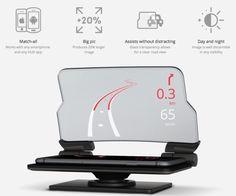 Hudway Glass, il gadget per avere la realtà aumentata su ogni auto - http://www.caroselloalassio.it/2015/11/hudway-glass-il-gadget-per-avere-la-realta-aumentata-su-ogni-auto/