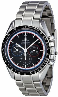 Omega Men's 311.30.42.30.01.003 Black Dial Speedmaster Watch Omega. $5595.00. Mechanical. Dress watch, stainless steel case. Case diameter: 42 mm. Antireflective sapphire. Water resistant to 50 m (165 feet). Save 18% Off!