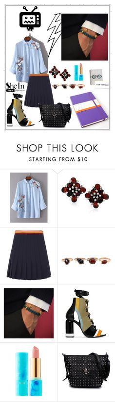 """""""My boss is here"""" by anelia-georgieva ❤ liked on Polyvore featuring Miu Miu, WithChic, Pierre Hardy, tarte and Moleskine"""