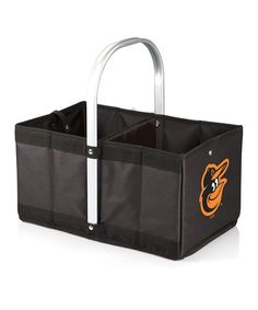 Take a look at this Baltimore Orioles Collapsible Urban Basket by Picnic Time on #zulily today!