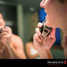Al ras o de tres días, tú decides qué estilo darle a tu barba. #Remington.