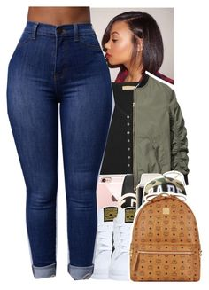 """Untitled #1459"" by toniiiiiiiiiiiiiii ❤ liked on Polyvore featuring Michael Kors, adidas, Gucci, CÉLINE and MCM"