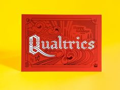 Qualtrics Christmas Card