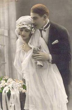 1910's wedding by jerry