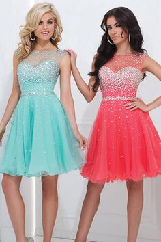 Splendid Scoop Neckline Short/Mini Open Back Dresses 2014 New Style