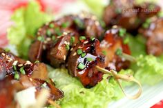 Japon – Page 5 Yakitori, Brunch, Kung Pao Chicken, Sausage, Beef, Ethnic Recipes, Four, Cooking Ideas, Olives