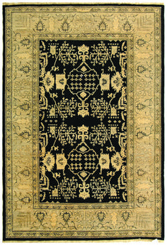 P600D Rug from Peshawar collection.  Styled with an eye on the artistry of Peshawar rug makers and steeped in vibrant colors and period motifs, these superb carpets are timeless classics. Ancient dying techniques add signature characteristics while the hand-knotted wool pile is made using the finest, high lanolin wool yarn for an heirloom look and feel. A splendid centerpiece rug for the great room, elegant living room or executive business offices.