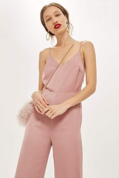 b329379d91f9 Strappy Satin Jumpsuit - Rompers   Jumpsuits - Clothing