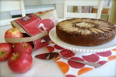GF Apple Streusel Cake. YUM! A great way to celebrate Autumn apples!