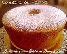 Le Mille e una Torta di Dany&Lory: Chiffon cake al limoncello