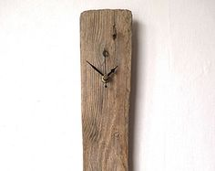 Bois flotté - horloge murale plage - recyclé Wood - horloge naturelle - bois horloge nautique