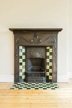 5 Top Tips on How To Restore a Cast Iron Fireplace. Easy step by step guide with before & after pictures and time-saving tips and tricks!