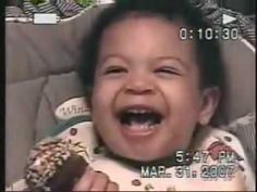 This is the best baby video ever.  Pretty sure this little guy has already graduated from the Denzel Washington School of Acting.  He is spectacular.