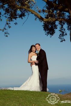 Cara and Brad at Los Verdes Golf Course. Photo by Charla Blue Photography. June 2012.
