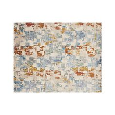 Our Vasari cut-pile rug takes an artist's approach to floor covering. Crate And Barrel, Area Rugs Diy, Carpet Runner, Rugs, Abstract Rug, Classic Carpets, Rugs On Carpet, Rugs In Living Room, Textured Carpet