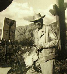 Maynard Dixon, desert shower painting   maynard dixon maynard dixon 1875 1946 was born in fresno