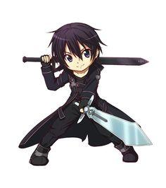 imagenes de sword art online kirito y asuna y yui en chibi - Buscar con Google