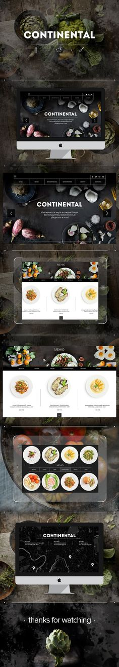 https://www.behance.net/gallery/20740405/CONTINENTAL-web-cite-for-restaurant