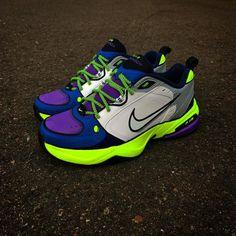 The 50 Best Nike Air Monarch Customs - 'Evil Stewie' by Shme Custom Kicks Nike Air Monarch, Dad Shoes, Floral Shorts, Tommy Hilfiger, Kicks, Footwear, Sneakers Nike, Stylish, South Beach